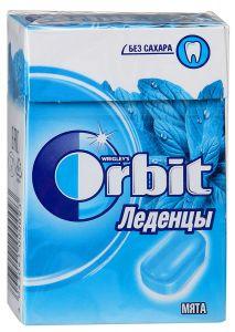 Леденцы ORBIT 35г Натуральная мята