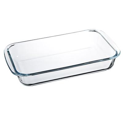 SATOSHI Форма для запекания жаропрочная прямоугольная, с ручками, стекло, 29х17,5х5см, 1,5л