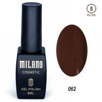 Гель-лак Milano Cosmetic №062, 8 мл