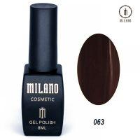 Гель-лак Milano Cosmetic №063, 8 мл