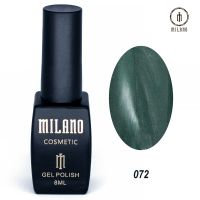 Гель-лак Milano Cosmetic №072, 8 мл