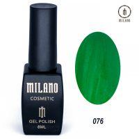Гель-лак Milano Cosmetic №076, 8 мл