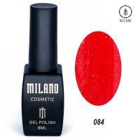 Гель-лак Milano Cosmetic №084, 8 мл