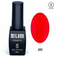 Гель-лак Milano Cosmetic №085, 8 мл