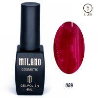 Гель-лак Milano Cosmetic №089, 8 мл