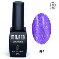Гель-лак Milano Cosmetic №091, 8 мл