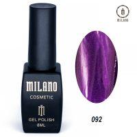 Гель-лак Milano Cosmetic №092, 8 мл