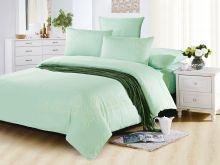 Комплект постельного белья Luxury modal  с вышивкой семейный Арт.41/006-ME