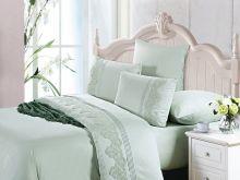 Комплект постельного белья Luxury LACE семейный  Арт.41/005-ML