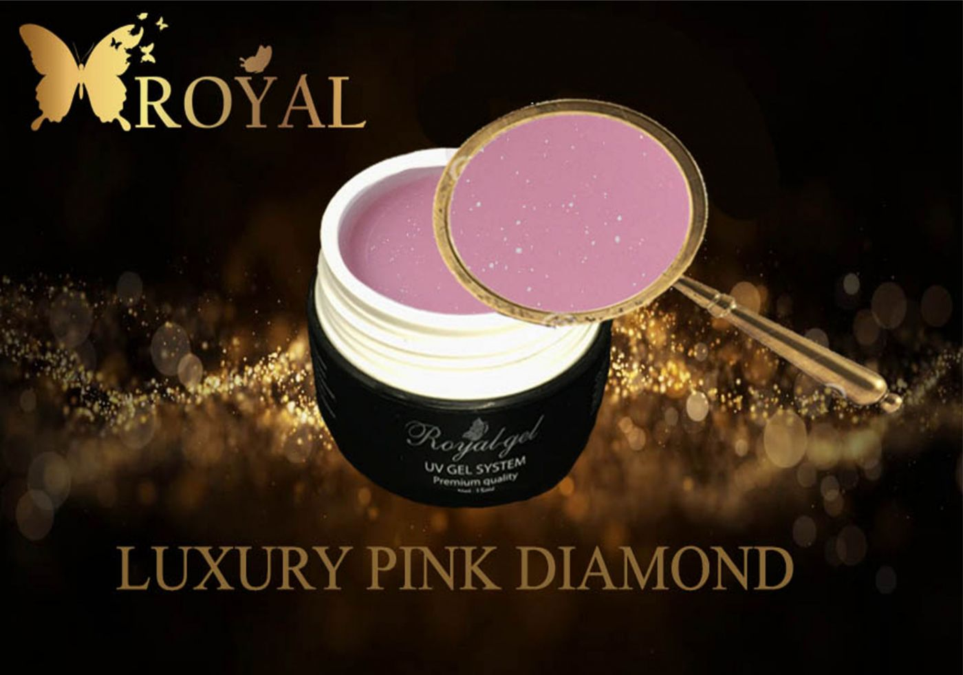 LUXURY PINK DIAMOND ROYAL GEL