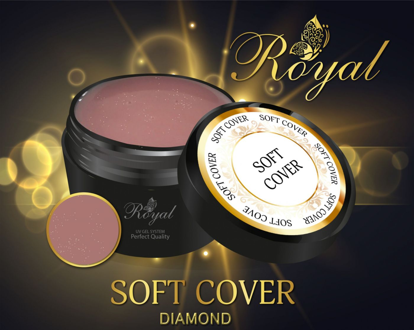 SOFT COVER DIAMOND ROYAL GEL
