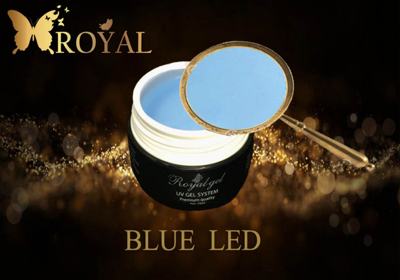 BLUE LED ROYAL GEL