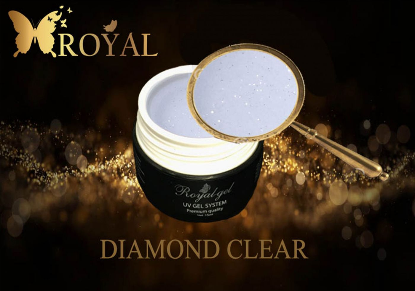 DIAMOND CLEAR ROYAL GEL