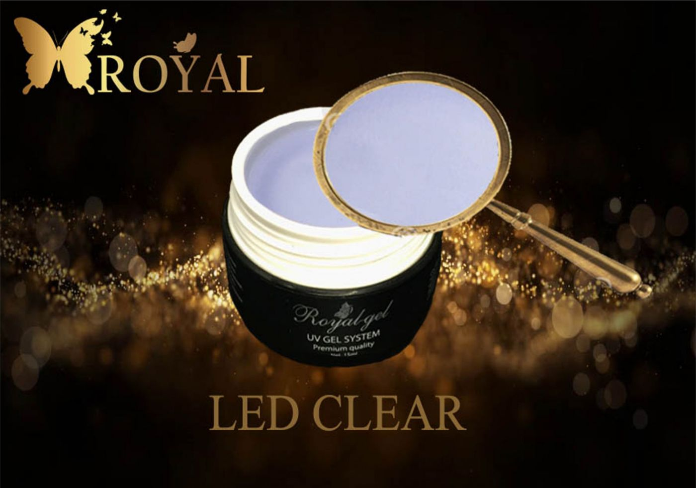 LED CLEAR ROYAL GEL