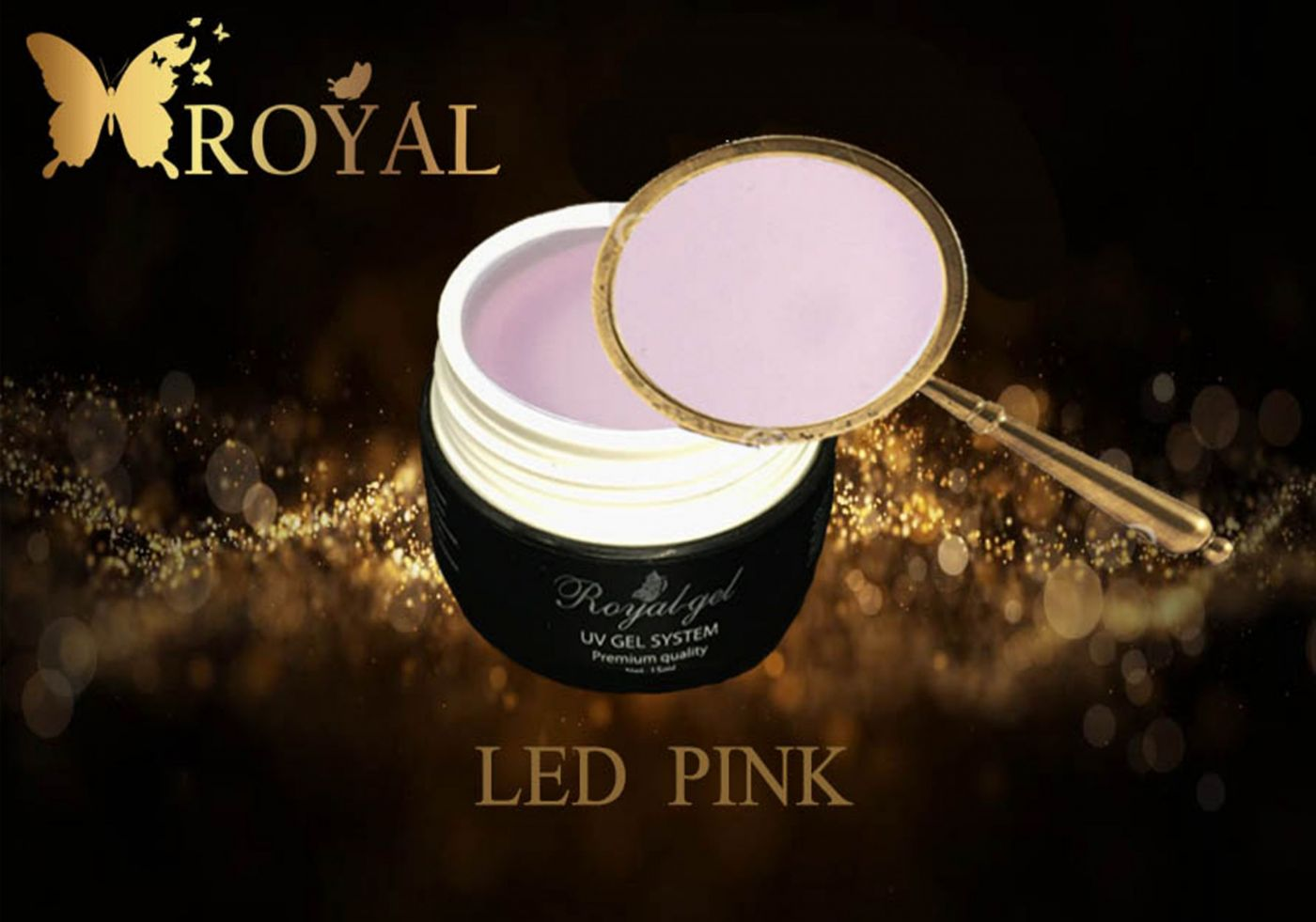 PINK LED ROYAL GEL
