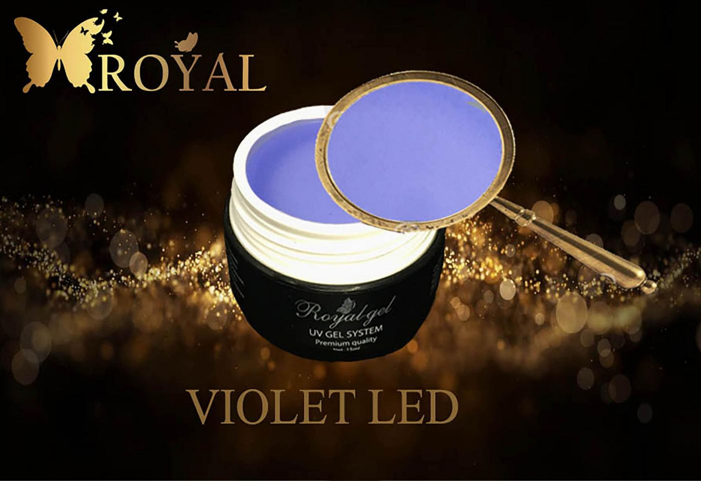 VIOLET LED ROYAL GEL