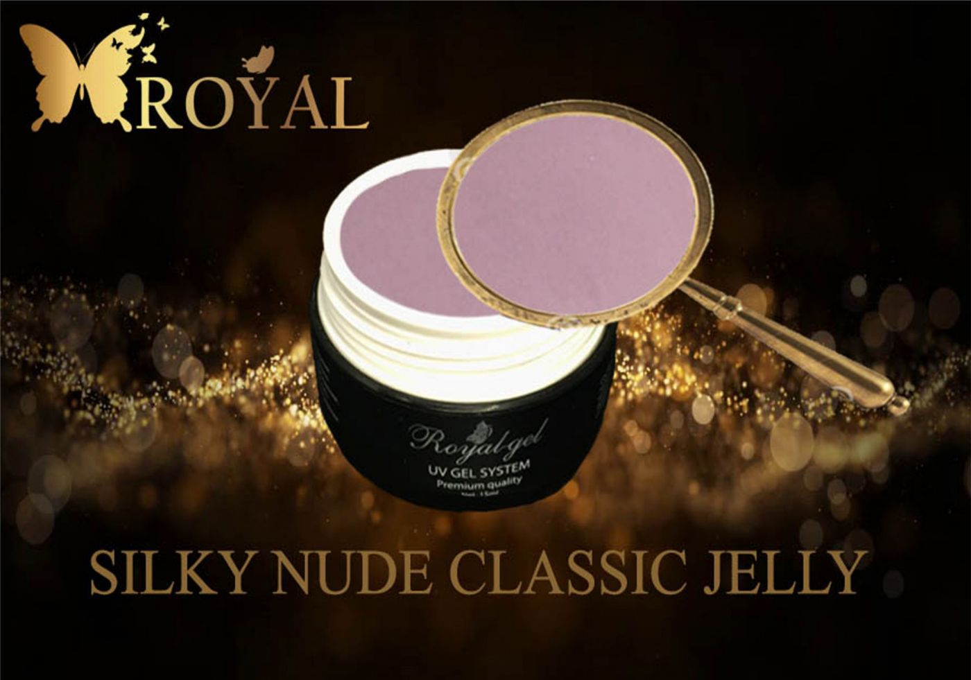 SILKY NUDE CLASSIC JELLY ROYAL GEL