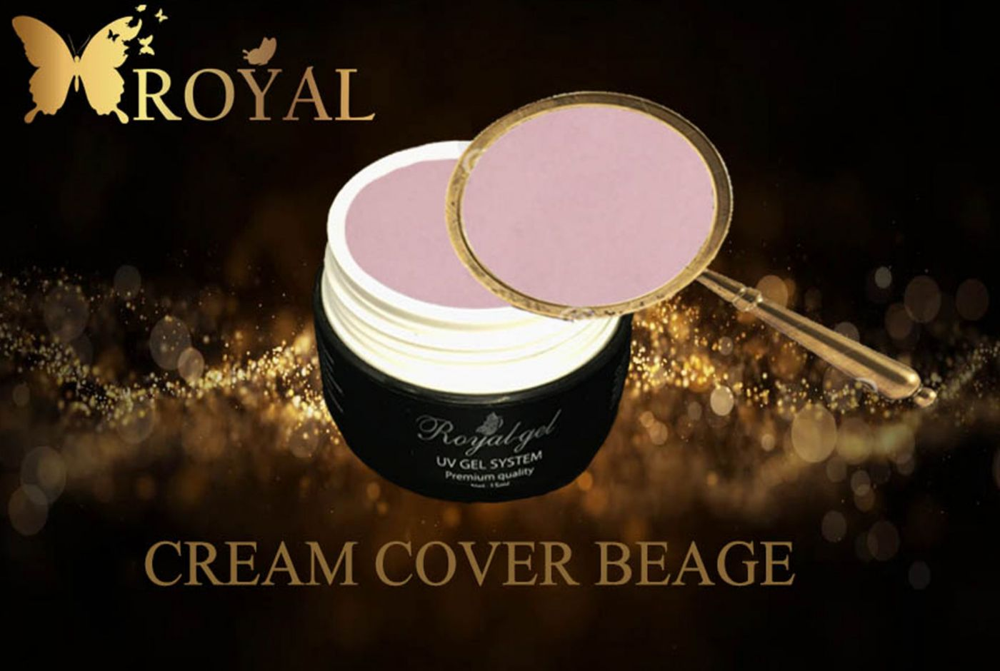 CREAM COVER BEAGE ROYAL GEL камуфляж карамельно розовый