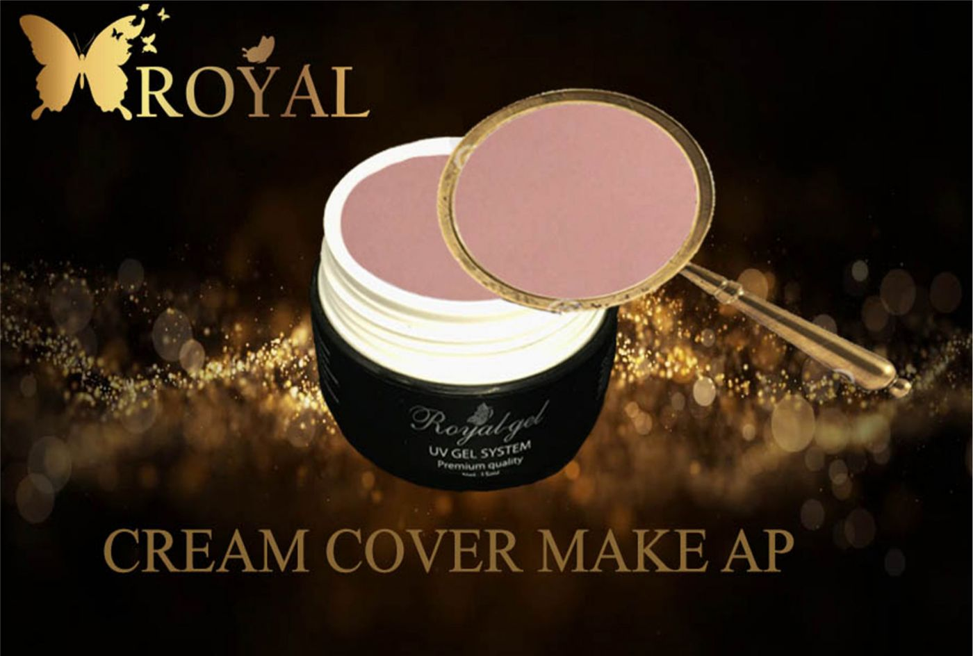 CREAM COVER MAKE AP ROYAL GEL
