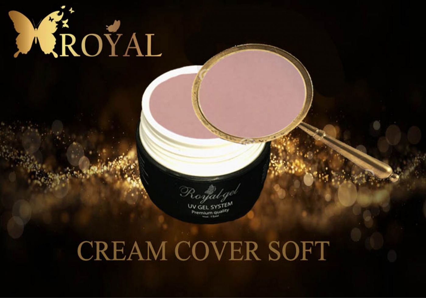CREAM COVER SOFT ROYAL GEL