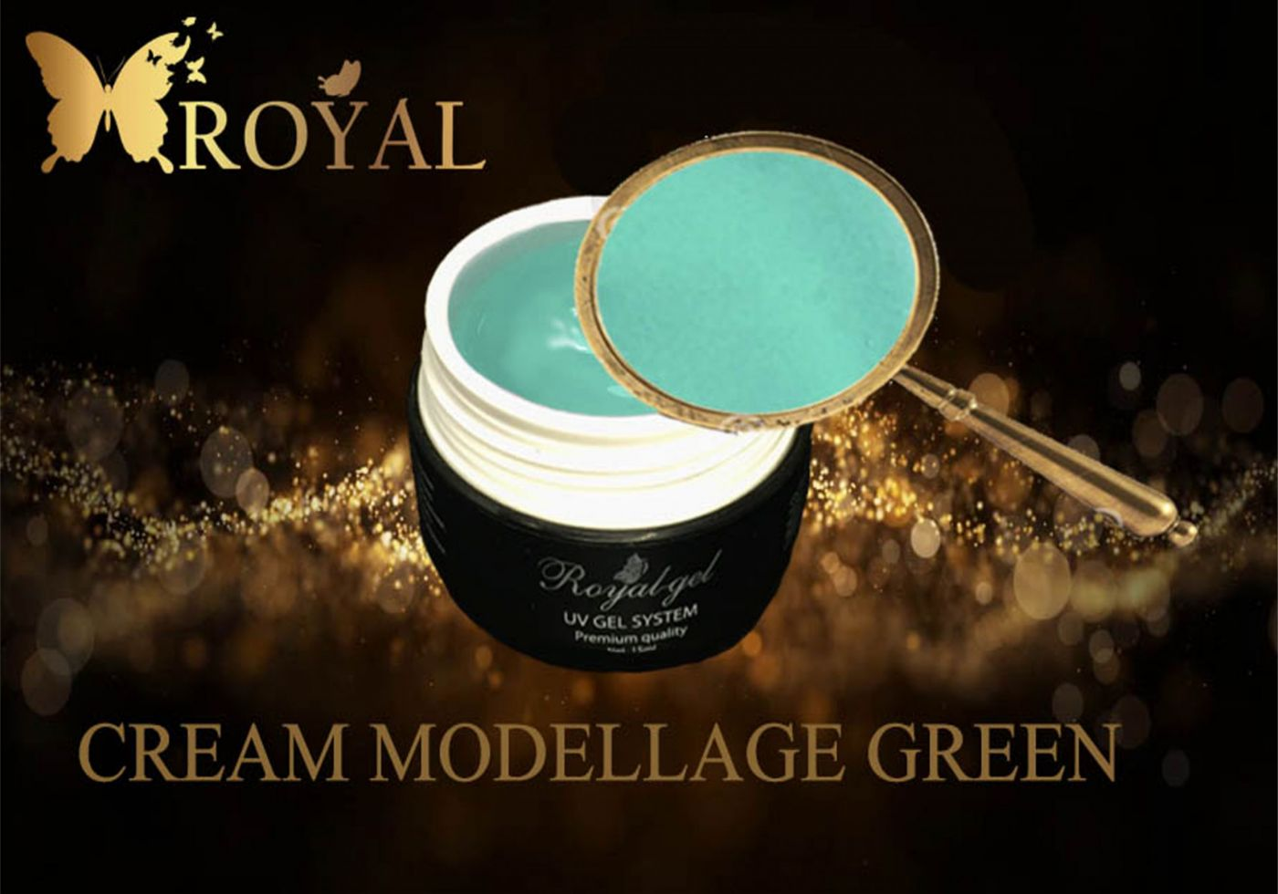 CREAM MODELLAGE GREEN ROYAL GEL