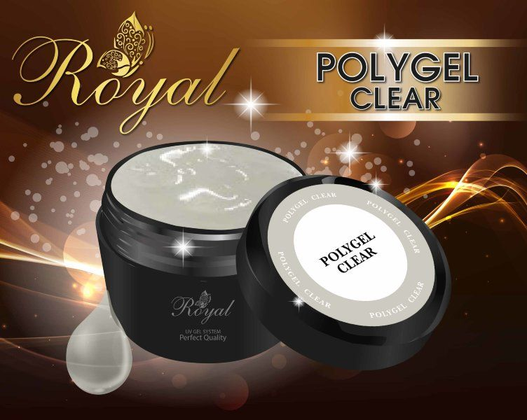 ACRYL GEL CLEAR ROYAL