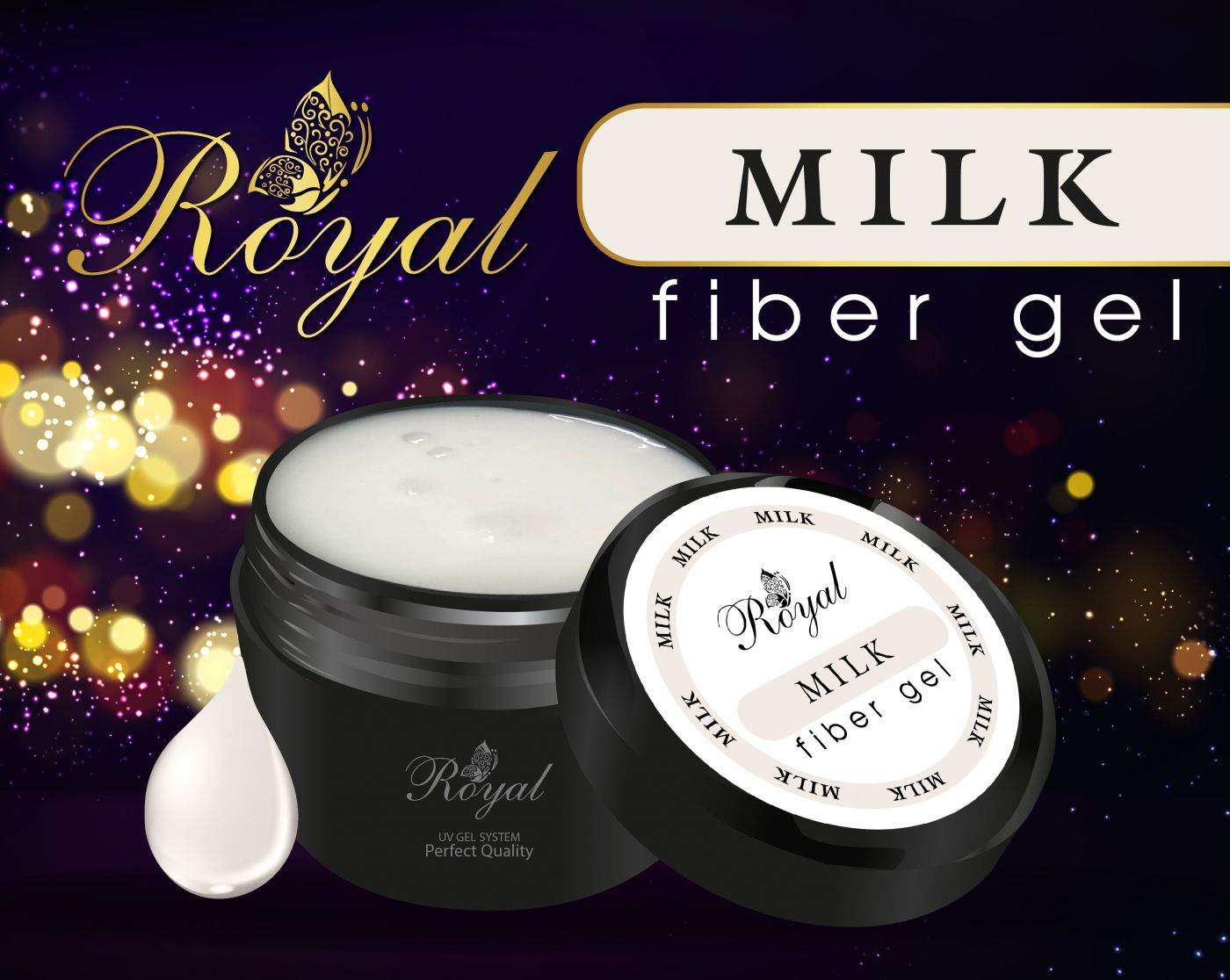 FIBER GEL ROYAL MILK