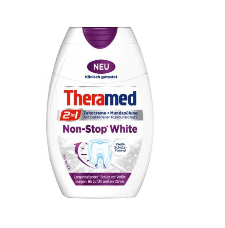 Theramed 2in1 Non-Stop White 75 мл зубная паста