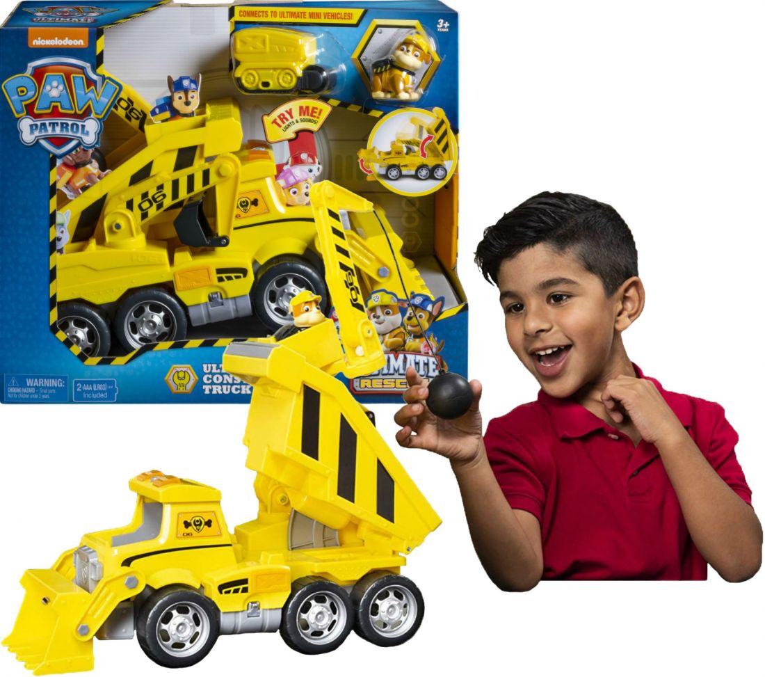Щенячий патруль Spin Paw Patrol строительный грузовик