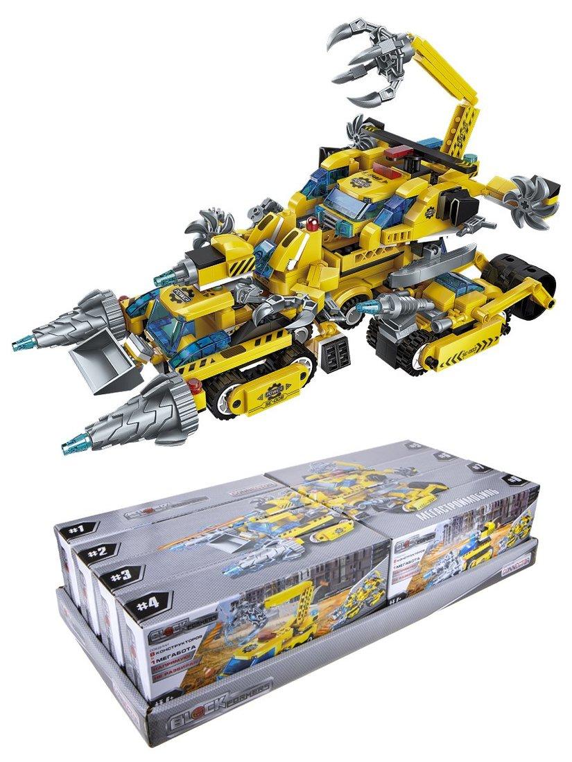 Конструктор Blockformers Мегатрансмобиль, в ассорт.