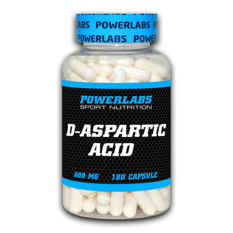 D-ASPARTIC ACID от Powerlabs 180 кап