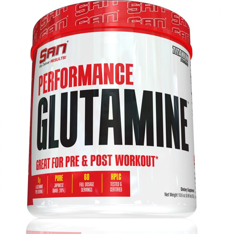 Performance Glutamine от SAN 300 гр