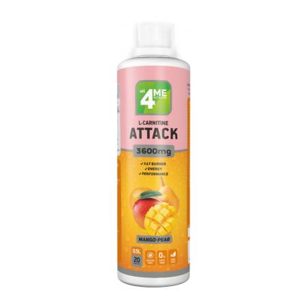 L-carnitine + Guarana ATTACK 3600 от 4Me Nutrition 500 мл