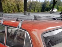 Багажник на ВАЗ 2101-2107, Delta, 2-х опорный, оцинкованный со съемной корзиной