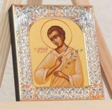 Икона Артемий Веркольский (9х10,5см)