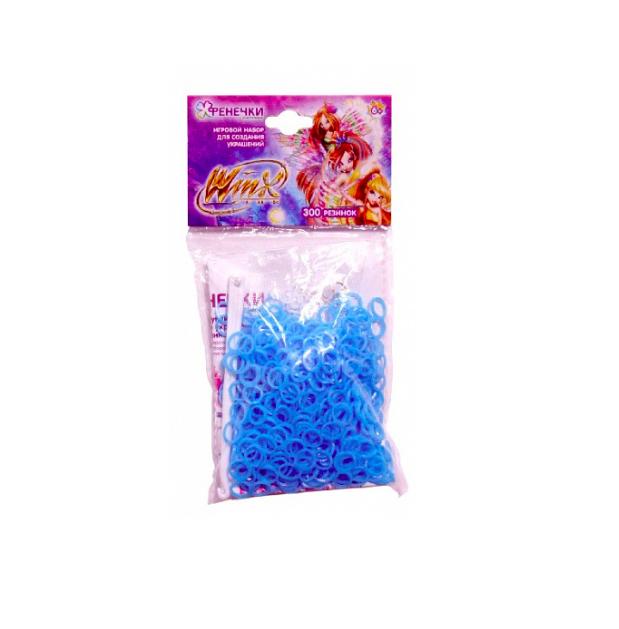 1toy Набор для плетения Winx фенечки-восьмёрки, 300 резиночек
