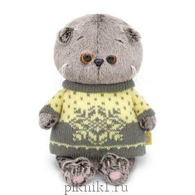 Котик Басик Беби в свитере