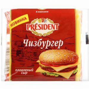 Pendir President çizburger 150 qr dilim