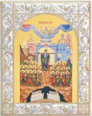 Непроходимая Дверь икона Божией Матери (14х18см)