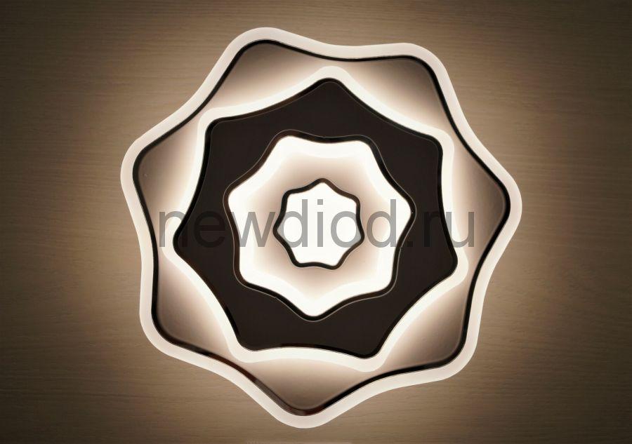 Светильник светодиодный настенно-потолочный GEOMETRIA 227 34W 4000K 230mm белый Oreol