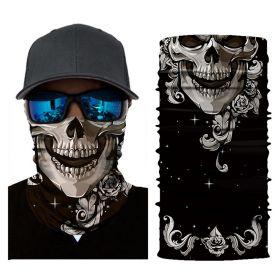 Защитная  реверсивная маска-бандана от пыли и ветра