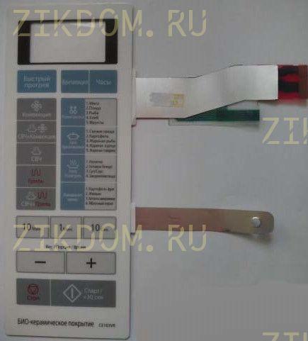 Сенсорная панель микроволновой печи Samsung CE103VR DE34-00346A