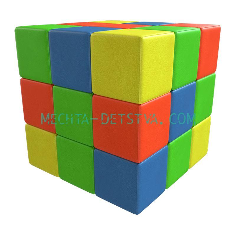 Мягкий конструктор «Кубик-рубик» ДМФ-МК-27.90.13