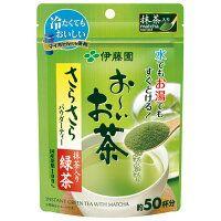 Matcha ITOEN зеленый чай порошок на 50 чашек.