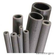 Трубка вспененный полиэтилен НПЭ Т 42/9 L=2м серый Порилекс