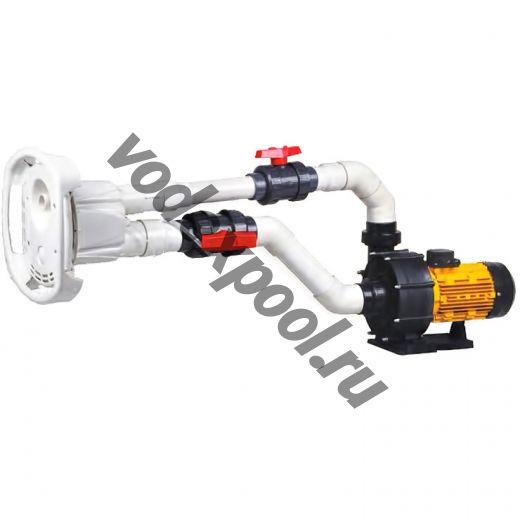 Противоток для бассейна AquaViva AV-JET-3ST Kit (380В, 38м³/час, 3HP)