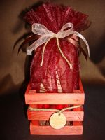 Ящик с кофе  - подарочный набор с кофе.