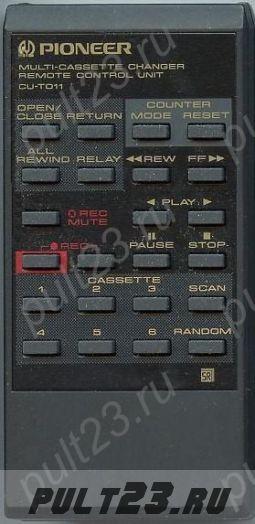 PIONEER CU-T011, CT-M5R, CT-M6R, CT-M66R