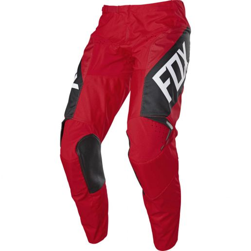 Fox 180 Revn Flame Red штаны для мотокросса