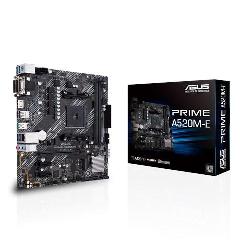 Материнская плата Asus Prime A520M-E Socket AM4